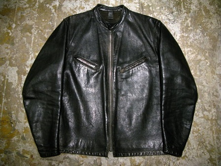 Vintage BATES 逆ハ Single Leather Jacket 134400yen