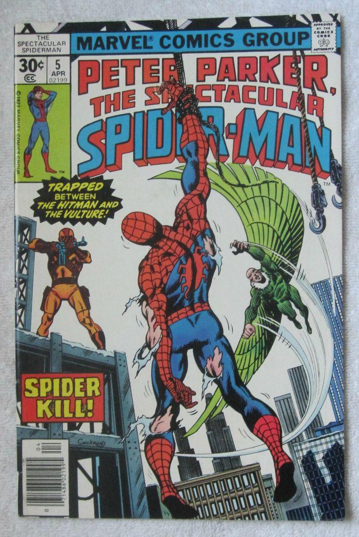 The Spectacular Spider-Man #5 (Apr 1977, Marvel) VF+ 8.5