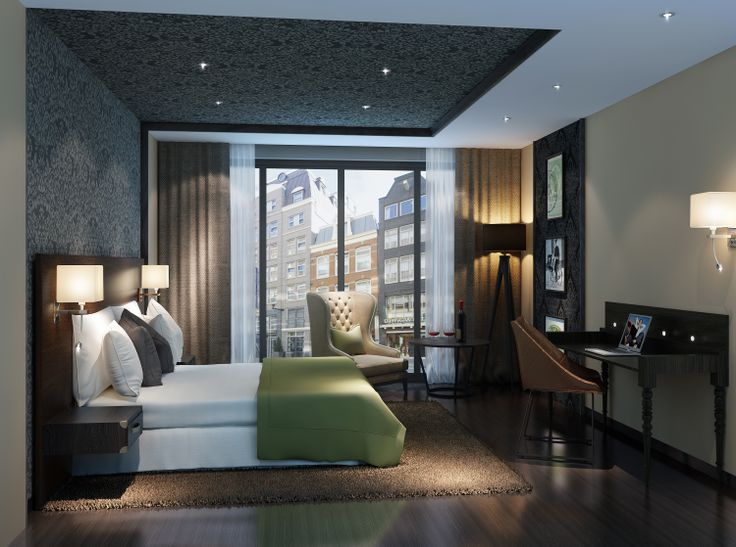 3D Visual Hotelroom / Design by Interior-Consult