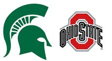 msu-ohiostate-2015 Michigan State and Ohio State football to wear helmet decals honoring Chad Carr in the Saturday (Nov 21, 2015) matchup
