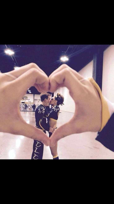 Cheer couple