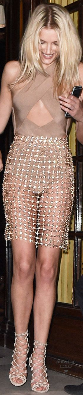 Lily Donaldson in Balmain | LOLO❤︎