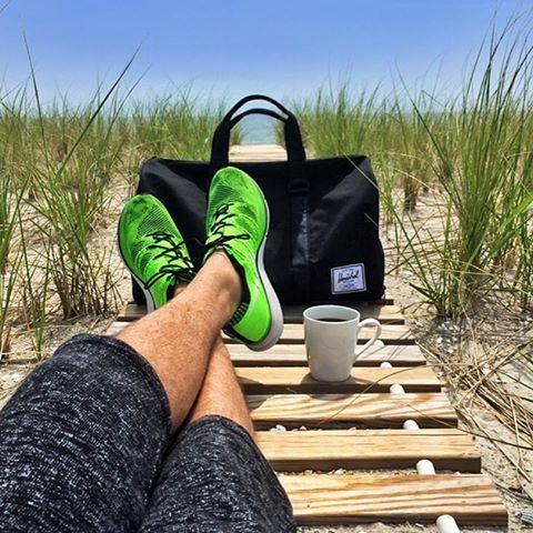 """10k Likes, 21 Comments - Herschel Supply Co (@herschelsupply) on Instagram: """"Put your feet up. Photo: @coffeenclothes #WellTravelled #BrantBeach #NovelDuffle #HerschelSupply…"""""""
