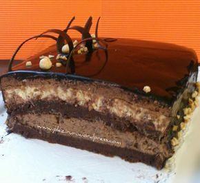 Tortul Sultanului cu ciocolata si alune