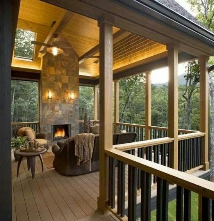 289 Best Covered Deck Ideas Images On Pinterest Covered