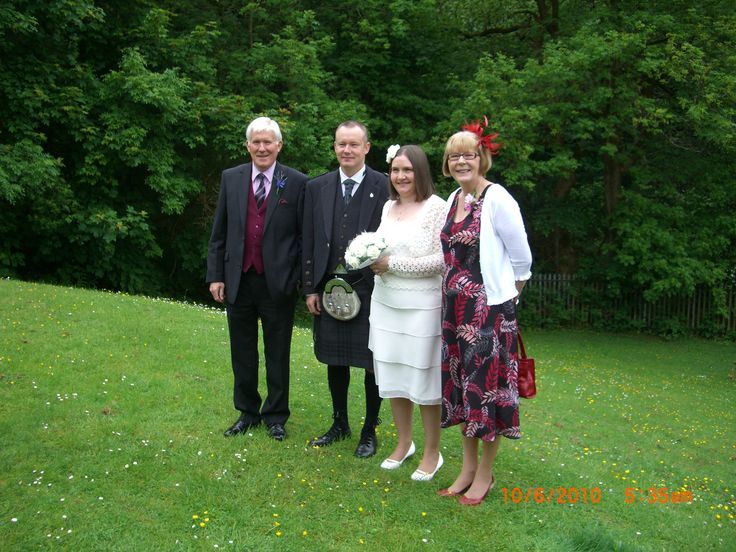 Hiram & Maureen Wedding Day