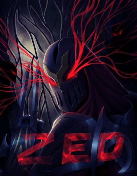 zed  reaper of shadows by thearkon Download free addictive high quality photos,beautiful images and amazing digital art graphics about Digital Art.