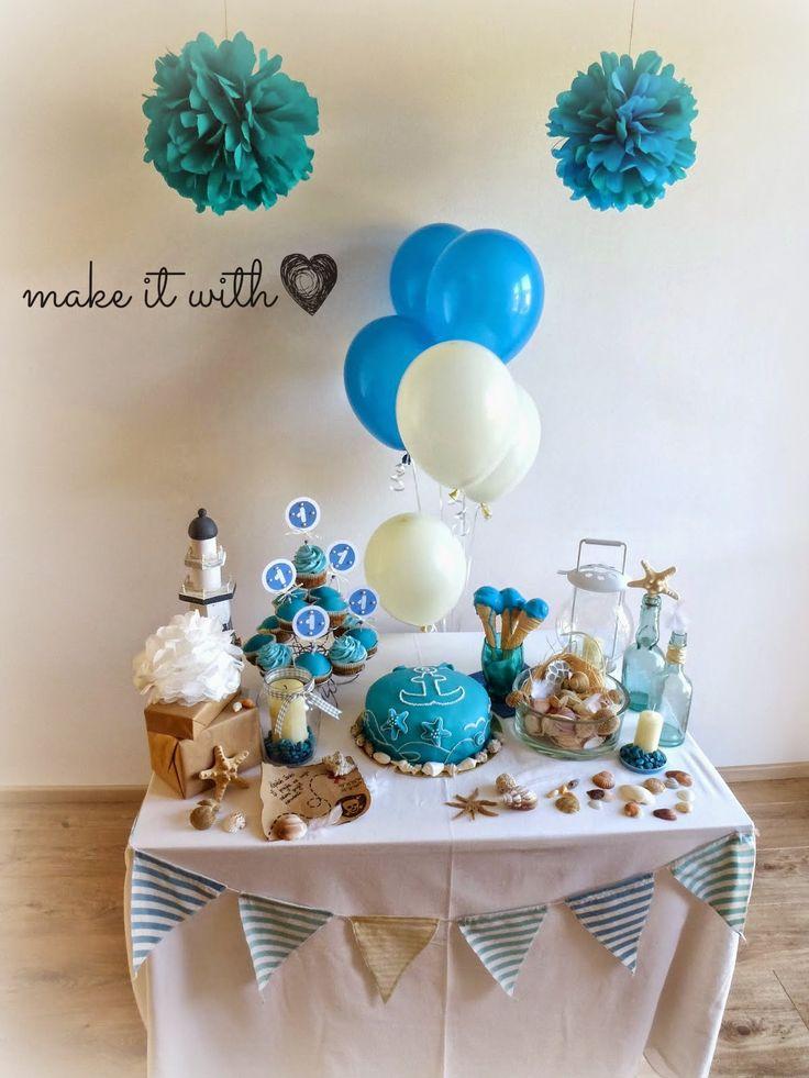 make it with heart: Prvé narodeniny môjho krsniatka