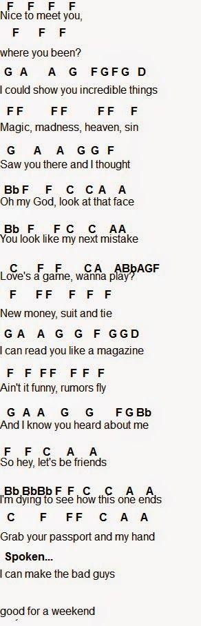 Flute Sheet Music: Taylor Swift