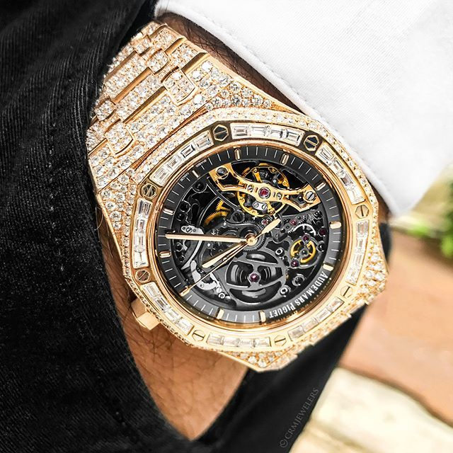 Bust Down Skeleton Rose Gold Ap Rate This Piece 1 10