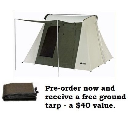 Kodiak Canvas Tent - Six-Person 10 x 10 Ft. Tent and Tarp (  sc 1 st  Pinterest : kodiak 6 person tent - memphite.com