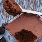 gezonde chocolademousse