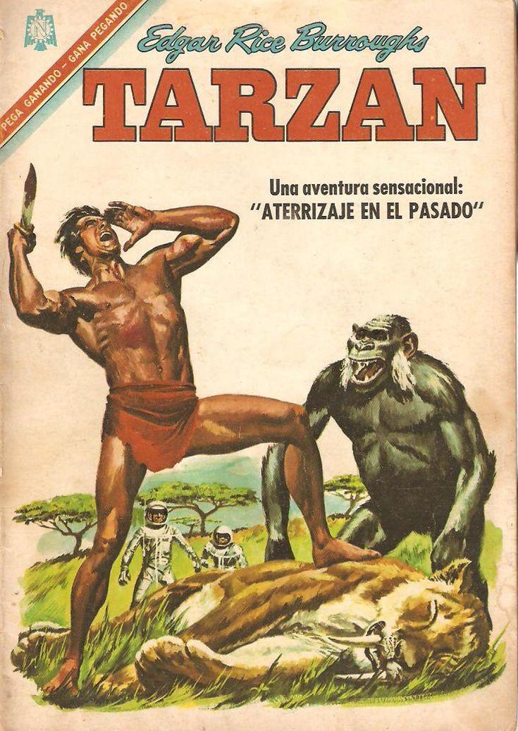 Historietas de Tarzan Editorial Novaro