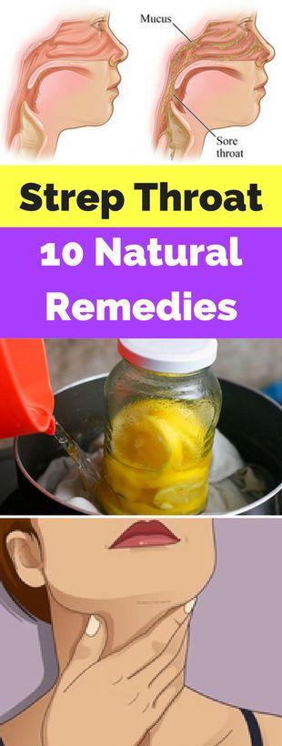 Strep Throat: 10 Natural Remedies - seeking habit
