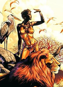 Mari McCabe/Vixen/Powers-Mimics Abilities of Any Animal, Claws