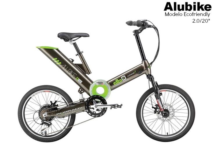 "Bicicleta Alubike Biciletas urbana de pedaleo asistido  modelo Ecofriendly 2.0/20"" https://www.facebook.com/Alubike #Bikes #bicicletas #Alubike"