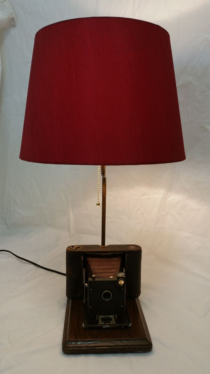 25 best vintage camera lamps and clocks for sale images on vintage kodak red bellows camera lamp arubaitofo Images