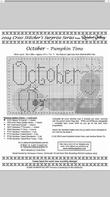 Pumpkin Time - October #10 Design By: Erica Michaels