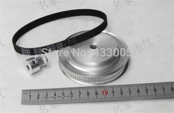 32.39$  Buy here  - Timing belt pulleys/timing pulley timing belt,belt pulley, the suite of Synchronous belt 5M(4:1)