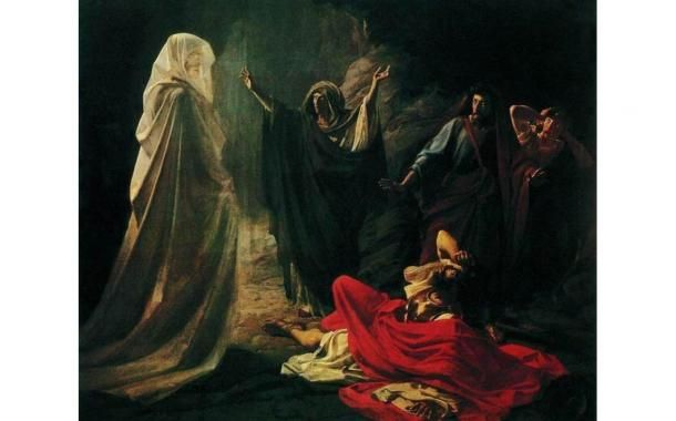 The Witch of Endor is known also as the biblical Medium of Endor. According to legend, she was a medium who apparently summoned the Prophet Samuel's spirit. She is known from the Old Testament, bu