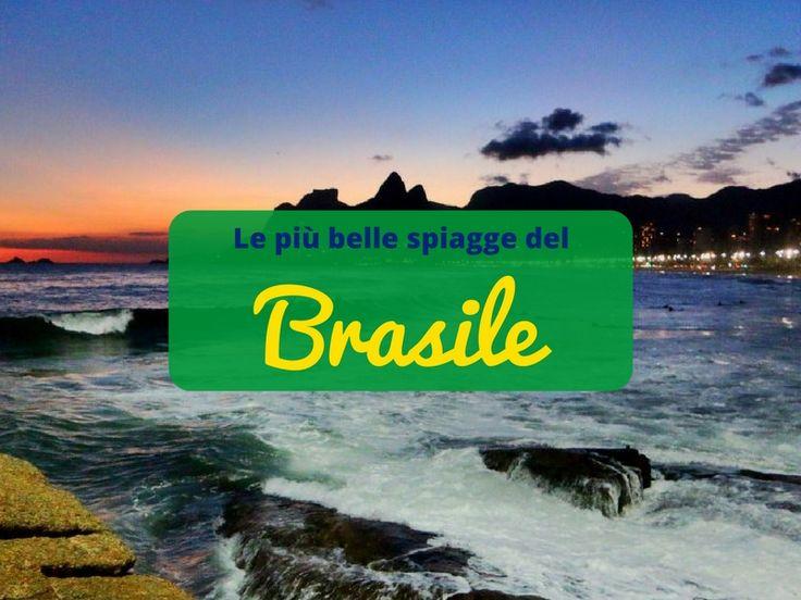 Spiagge dorate, infradito ai piedi e una caipirinha in mano...bello sognare il #Brasile! 🇧🇷