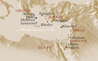 For the amateur historian, a Voyages to Antiquity cruise is without parallel. Click to learn more about the Aegean Odyssey experience.