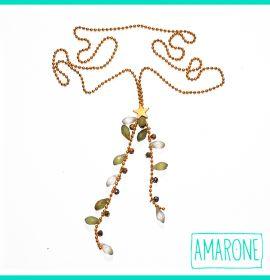 Los detalles más simples determinan la grandeza de las cosas!!! Luce única y divertida con el collar #imán de #Amarone, un complemento aislado de lo común.