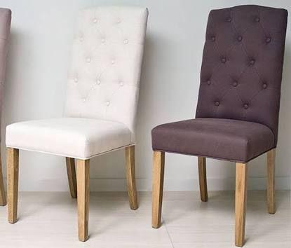 Resultado de imagen para sillas comedor modernas gris