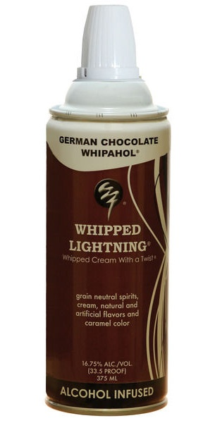 Whipped Lightning Alcohol-Infused Whipped Cream