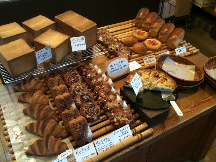 ムーラタルト パンも色々あります