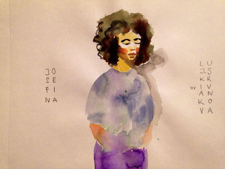 Sista, watercolor, 2015