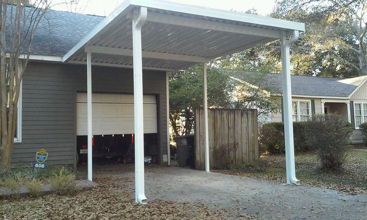 Single carport Aluminum patio covers, Aluminum patio