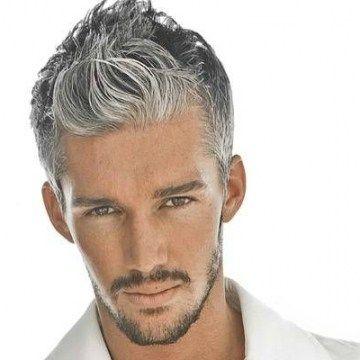 Männer s Frisuren Graue Haare, Moderne