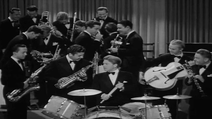 """Mickey Rooney (and friends) - Drummer Boy. from the 1940 musical film """"Strike Up The Band"""""""