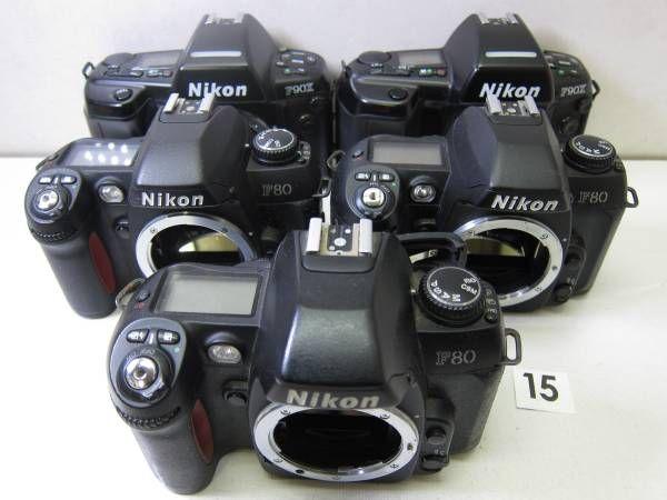 NIKON  F90X ※外観にベタつき。 NIKON  F90X ※外観にベタつき。 NIKON  F80 ※外観にベタつき。 NIKON  F80 ※外観にベタつき。 NIKON  F80 ※外観にベタつき。背面フタが閉じません。