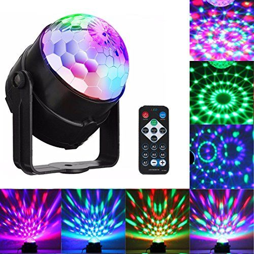 Sound Activated Party Lights with Remote Control Dj Lighting, RBG Disco Ball, Strobe Lamp 7 Color Stage Par Light for Home Room Dance Parties Birthday DJ Bar Karaoke Xmas Wedding Show Club Pub - http://partysuppliesanddecorations.com/sound-activated-party-lights-with-remote-control-dj-lighting-rbg-disco-ball-strobe-lamp-7-color-stage-par-light-for-home-room-dance-parties-birthday-dj-bar-karaoke-xmas-wedding-show-club-pub.html