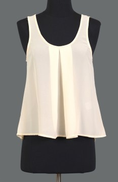 Lolitta tank singlet ivory $39.95 | threads and style