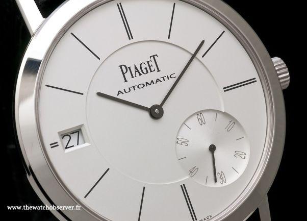 Montre de luxe Piaget Altiplano Date G0A38130 - cadran
