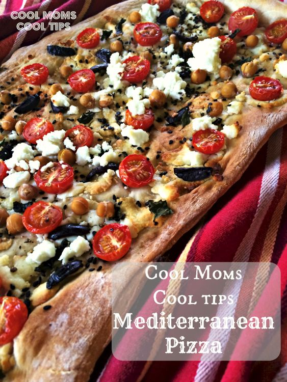 Give our Mediterranean Pizza recipe a spin!  You won't be dissapointed ;-) #Save4Summer #ad