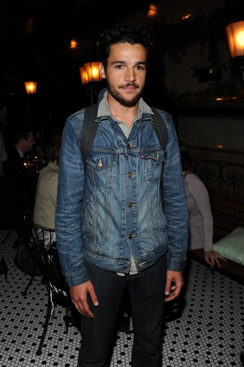 """womensweardaily:    Free People Taps 'Girls' Actor Christopher Abbott  Girls"""" actor Christopher Abbott has a side gig in Free People's first online miniseries. In """"Roshambo,"""" he is a touring band member who unexpectedly reunites with Sheila Márquez (a model in real life) for one adventuresome afternoon. Free People fans can check out the short via Facebook, Instagram, Pinterest and Twitter. For More  Photo by KSW"""