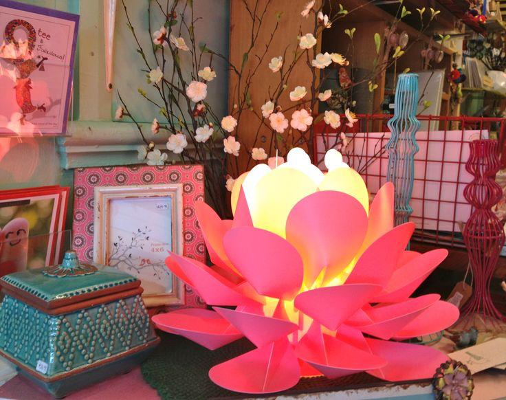 Lotus lamp.