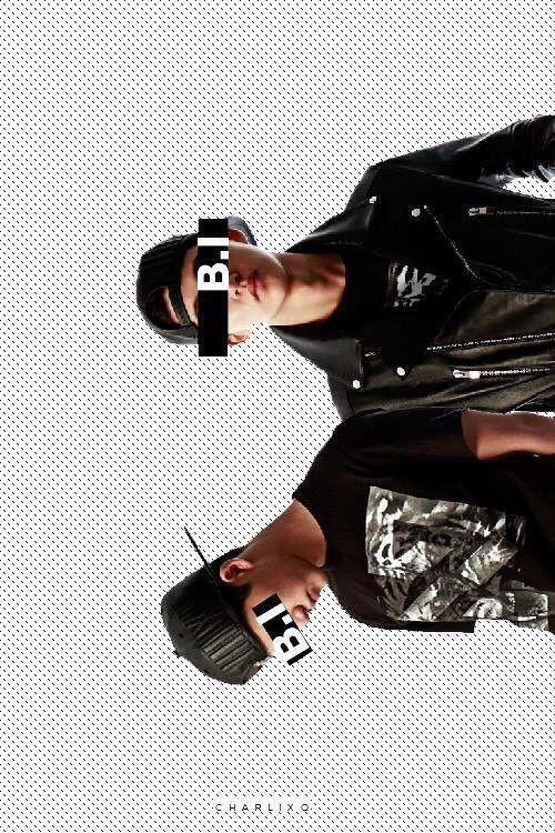 iKON B.I Wallpaper  Cr: Charlixq