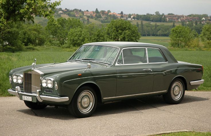 Rolls Royce Corniche Coupe. My favourite car. Better than the Bristol 411 I used to have.