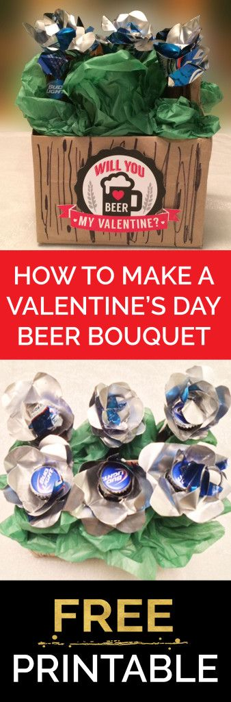 how-to-make-valentines-beer-bouquet-celebrate-chaos