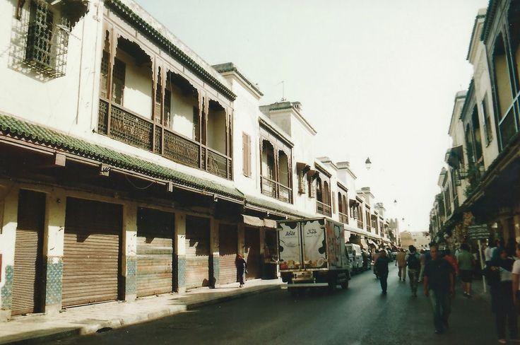 The Jewish Quarter of Fes. 35mm. www.sunsjump.blogspot.com.