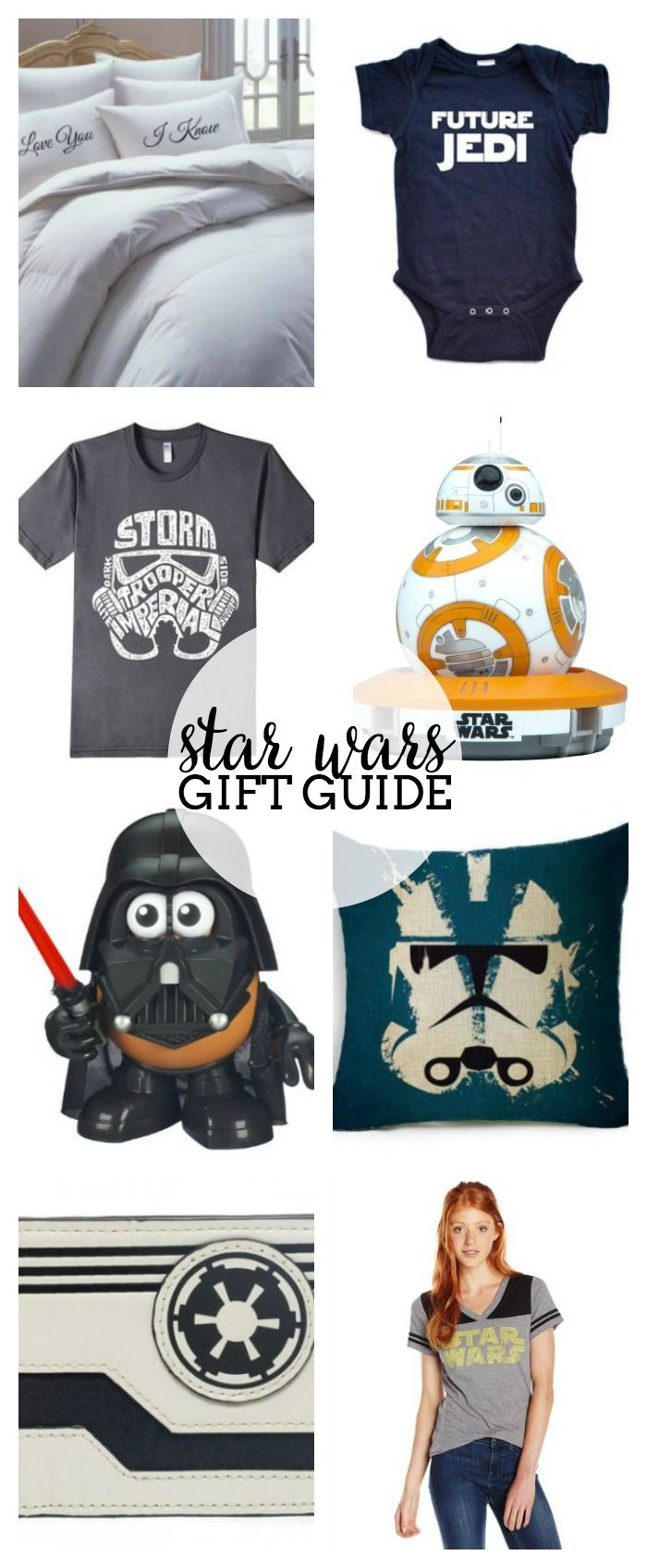170 best star wars images on pinterest star wars party birthdays star wars gift guide for all ages christmas presentsdiy solutioingenieria Images