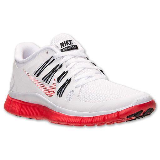 Women\u0027s Nike Free 5.0+ Premium Running Shoes | FinishLine.com | White/Light