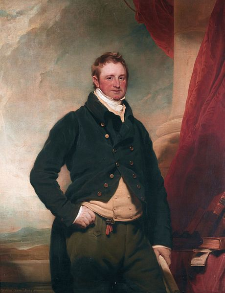 Martin Archer Shee (1769–1850), portrait of William Charles Keppel, 4th Earl of Albemarle (1772–1849), briefly styled Viscount Bury in 1772, was a British Whig politician. In addition to managing the bloodstock of two successive Heads of State, when the horse was still a main mode of transport, the 4th Earl of Albemarle was also a leading racehorse owner of his day. As an owner, William Charles won two Classics & the Ascot Gold Cup three times in 1843, 1844, &  1845.