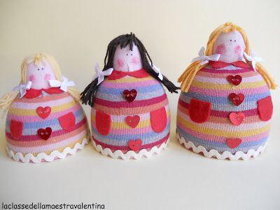 La classe della maestra Valentina: BAMBOLINE PORTA SEGRETI