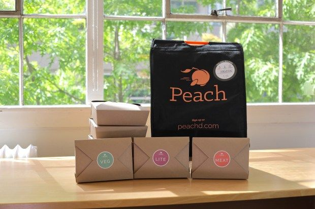 Office lunch delivery startup Peach reaches profitability in 3 cities expands service to Dallas